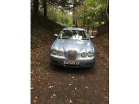 Jaguar S Type Saloon, pale blue, 2.7 diesel V6, XS, 4 door, Auto, sports mode, 2007, 07 plate.