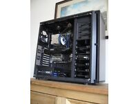 Intel core i7 3820 based workstation, 16GB RAM,120GB SSS,3TB HDD, ASUS,GTX,CORSAIR