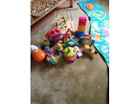 Baby, infant, toddler toy bundle.