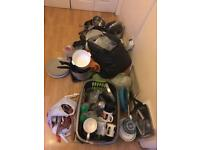 Freebies Free to collect kitchen crockery cutlery pans pots glasses boards etc
