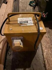 3KVA site transformer