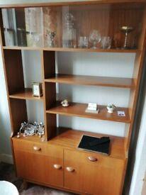 Sideboard/glass unit