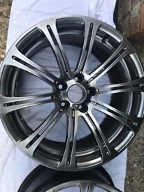 Bmw m3 alloy wheels, in very good condition, in anthracite colour