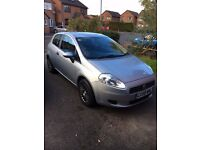 2008 Fiat Punto Grande 1.2 with Full history, Tax March, MOT Sept. Recent Service and Brakes.