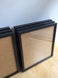 Black frames x 6