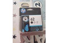 Hp62 Black Ink Cartridge x4
