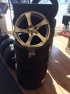 Ensemble de roues 19 pouces avec pneus ! Prêt pour la route !