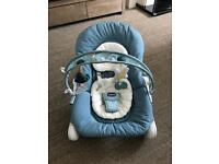 Chicco hoopla bouncer, teal