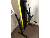 Everlast weight bench (+weights if wanted)