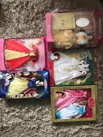 Disney Princess Dolls and Clothing