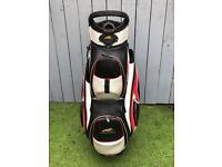 Powakaddy premium trolley/cart 14 way golf bag