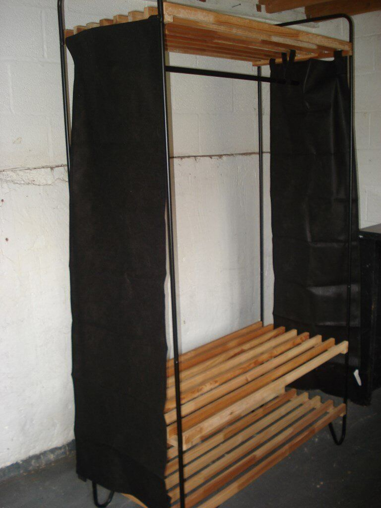 Wardrobe storage unit ikea bodo in nuneaton for Storage wardrobe ikea