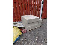 "6"" concrete blocks"