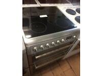 Hotpoint stainless steel cooker £175 can deliver and install