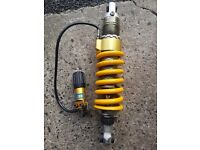 Ohlins Rear Shock off BMW R1150GS