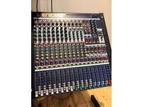 MIDAS VENICE U16 (Home use only, VG condition) Analog mixing desk with USB audio i/O