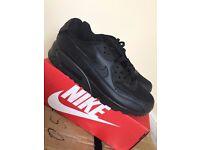 nike airmax 90 brand new black 8.5
