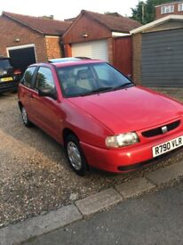 SEAT IBIZA 1391 cc 3 DOOR WITH LOW MILEAGE