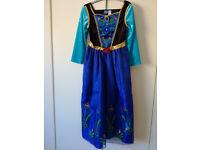Disney frozen anna dressing up dress