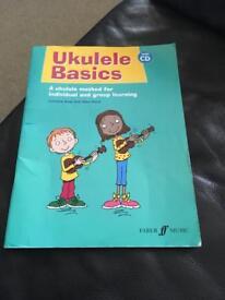 Ukelele basics book /cd