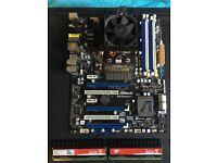 Amd phenom (tm) II X6 1090T +2x 2GB RAM Sector 5 + Asrock 970 extreme4 Motherboard