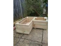 Wooden planters Make to order Any size, prices will vary depending on size
