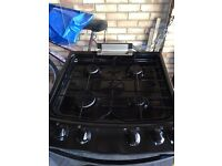 Free standing Gas cooker with double oven excellence condition less than 12 months old