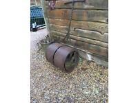 Antique original garden roller (made in London