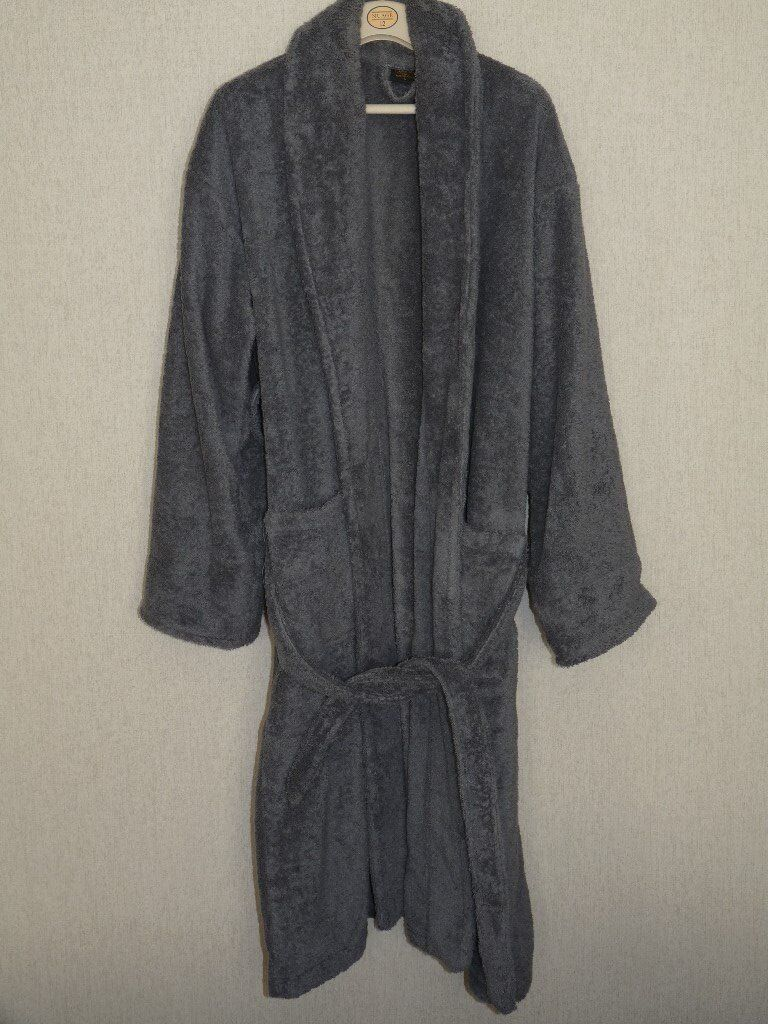 5db3d3642b Large Heavy Dressing Gown in Egyptian Cotton.