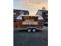 New Type Approved Airstream Mobile Catering Trailer Burger Pizza Bar Trailer 15th October