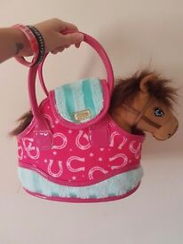 Pony in a bag