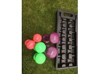6kg Dumbbell Set with Case Weights