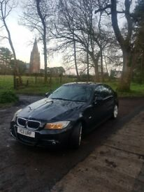 BMW 3 series 320d M sport Business edition black
