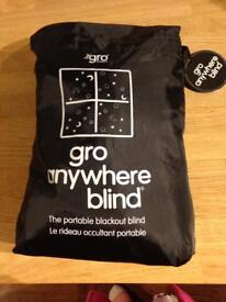 Gro Anywhere Adjustable Blackout Blind (Brand New)