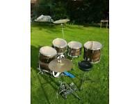1970's Premier Drum kit