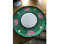 Habitiat- Large Handpainted plate