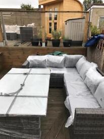 Garden Furniture Glasgow rattan outdoor garden furniture sets yakoe papaver - delivery