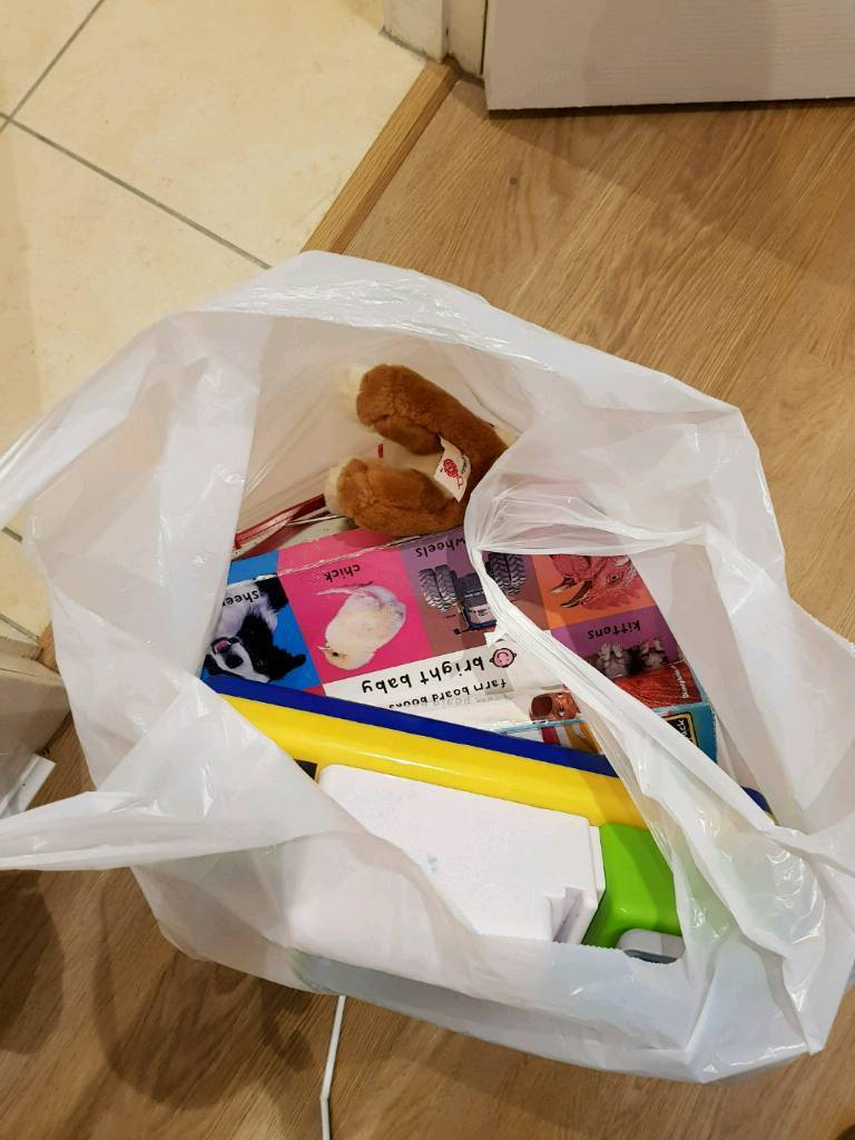 Bag of toys/books