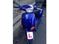 BLUE VESPA ET2 50cc