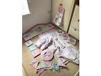 Baby girl bedroom set