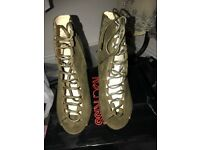 ANKLE BOOTS, SIZE 4