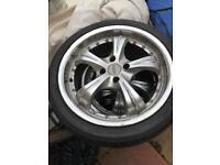 18' Alloy wheel
