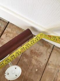 Hand rail and fixings