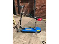 Electric scooter, nearly new condition.
