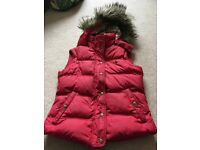 Jack Wills down gilet, size 8- very good condition
