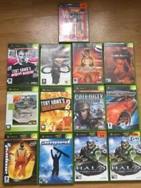 Original XBOX Games Joblot x13 inc Halo Tony Hawks Fable Call of Duty XIII Need for Speed