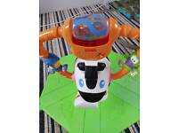 Fisher Price Bounce and Spin Zebra