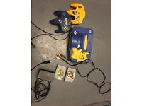 Nintendo 64 Pokemon edition & 2 games