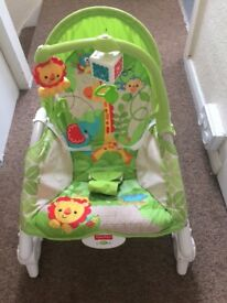 Baby to toddler baby bouncer