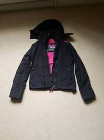 .Ladies / Girls Super Dry Wincheater coat. Size small